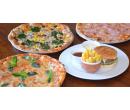 Burger a hranolky nebo 32cm pizza podle výběru | Slevomat