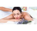 60min masáž zad, krku a šíje levandulovým olejem | Slevomat