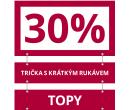 Extra sleva 30% na zlevněná trika a topy   Takko