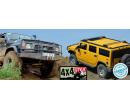Offroad jízda Nissanem Patrol nebo Hummerem H2 | Slevici