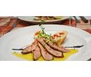 5chodové menu s variací steaků pro dva  | Slevomat