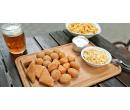 500 g sýrů s hranolky a coleslawem | Slevomat