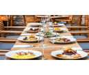 4chodové degustační menu pro dva s lahví vína | Hyperslevy