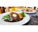 Menu s aperitivem a steakem z hovězího roštěnce   Slevomat