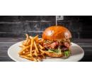 Bacon burger menu pro 2 osoby   Slevomat