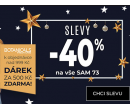 Výprodej -40%, dárek zdarma, doprava zdarma | Sam73.cz