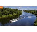 Plavba motorovým člunem po kouzelném Baťově kanálu   Hyperslevy