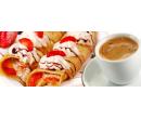 Palačinka s marmeládou a šlehačkou + Espresso  | Slevici