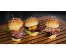 Miniburger dle výběru s hranolky | Slevomat