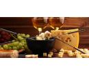 Sýrové fondue s lahví bílého vína pro dva | Slevomat