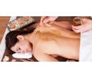 Medová masáž zad a chodidel  | Slevomat