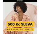 Sleva 500 Kč z nákupu nad 1000 (i zlevněné) | Zoot