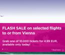 Letenky z Vídně za 5 EUR | Wizz Air