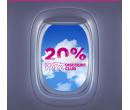 Sleva 20% na všechny lety WizzAir | Wizz Air