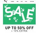 Extra sleva 10% na výprodej PUMA | Puma.com