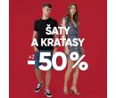 Sleva až -50% na šaty a kraťasy | Urbanstore.cz
