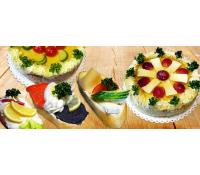 14velkých obložených chlebíčků či aspikové dorty   Slevomat