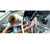 Ruční mytí vozidel včetně tepování interiéru   Slever
