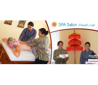 Thajský relax - masáž olejem zad a šíje | Slever