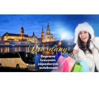Autobusem za výprodeji v Drážďanech | Hyperslevy