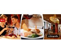 Degustační čtyřchodové menu pro dva U Zvonu | Slevomat