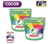 Kapsle na praní Ariel Pods Color 2x52 ks | Alza
