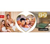 Valentýnské wellness hýčkání v Hotelu 99(Chomutov) | Slevomat
