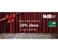 10% sleva na lístky do divadel v Brně | Divadlo