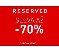 Reserved - extra -50% při koupi 4 ks z výprodeje | Reserved