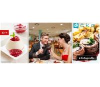 Romantické menu pro dva s přípitkem | Slevomat