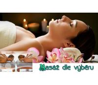 Masáž antistresová, relaxační nebo masáž mix  | Kupon Plus