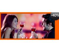 Valentýnské 5ti chodové menu pro 2 | Bav se levně