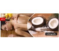 Relaxační masáž kokosovým olejem | Slevomat