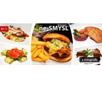Vydatné menu o 3 chodech v restauraci ne-SMYSL  | Slevomat