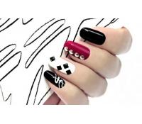 Nové gelové nehty včetně kamínků | Pepa