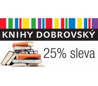 25% sleva na nákup v knihkupectví Knihy Dobrovský | Slevomat