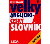Josef Fronek - Velký Anglicko-Český slovník | Arara