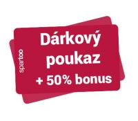 Dárkový poukaz na Spartoo.cz | Spartoo
