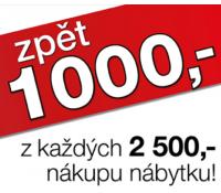 Sleva 1000 Kč z každých 2500 korun | Sconto