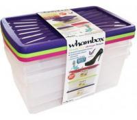 Úložné boxy Wham 9 l, 3ks | Rozbaleno