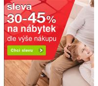 Sleva až 45% na nábytek   Sconto