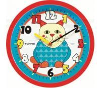 Dětské nástěnné hodiny Twins | Rozbaleno