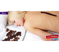 Čokoládový peeling, masáž a zábal - 60 min | Adrop