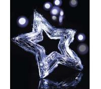 Vánoční osvětlení, Hvězda 20 LED | Rozbaleno