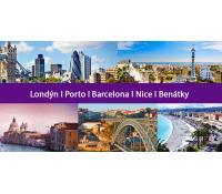 Trip Evropou: 5 měst na jeden zátah za 3 529 Kč | Flightics