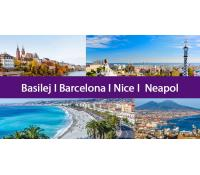 4v1: Basilej, Barcelona, Nice a Neapol za 3 058 Kč | Flightics s.r.o.
