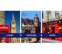 Eurotrip: Londýn + Edinburgh + Dublin | Flightics.com