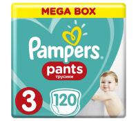 Plenky Pampers Pants 3 (6-11 kg), 120ks | Mall.cz