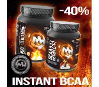 Sleva 40% na instantní BCAA | Maxxwin.cz