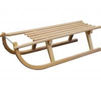 Dřevěné sáňky Sulov Davos, 100 cm | Alza